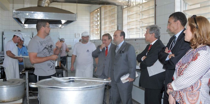 Visita do secretário Bernardo Santana à APAC de Itaúna, no Centro-Oeste do Estado. - 21/09/2015