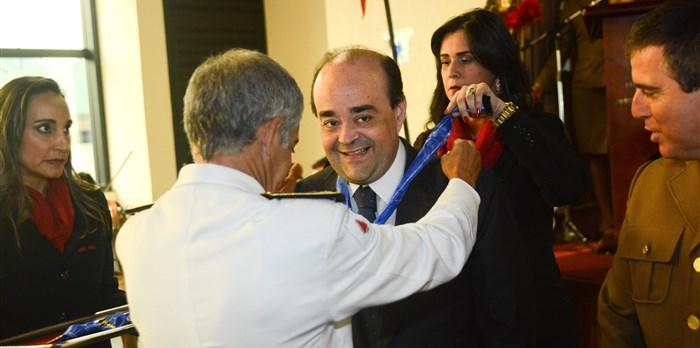 Secretário Bernardo Santana é agraciado com Colar do Mérito Judiciário Militar - 09/11/2015