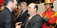Recebimento da Medalha da Ordem do Mérito Legislativo - Grau Mérito Especial. 28/09/2015