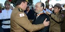 Recebimento da Medalha Alferes Tiradentes, a mais alta comenda conferida pela Polícia Militar de Minas Gerais – jun.2015