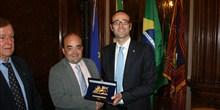 Homenagem da Câmara Italiana à Câmara dos Deputados brasileira.