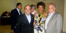 Bernardo Santana quando do recebimento do Troféu Brasileiros no Mundo, em Alvinópolis. - out.2011