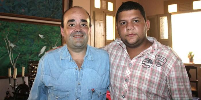 Bernardo Santana e Allan Guedes.