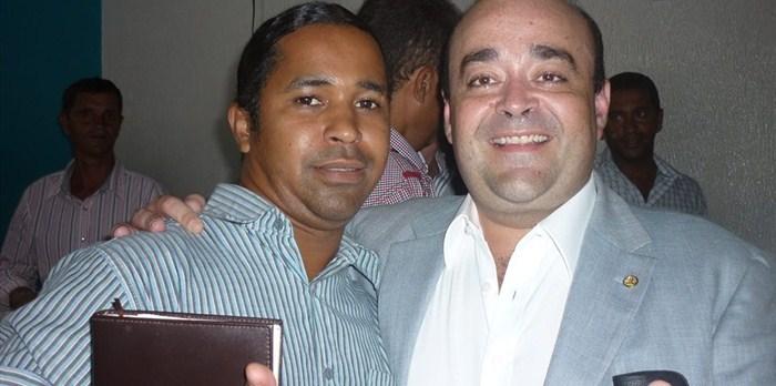 Luciano e Deputado Bernardo Santana.