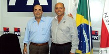 Com o Dr. Carlos, liderança de Ibiracatu.