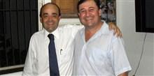 Deputado Bernardo Santana com o prefeito Alvinho, de Juruaia.