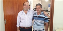 Deputado Bernardo Santana com o vereador Vanzinho, de Rubim.