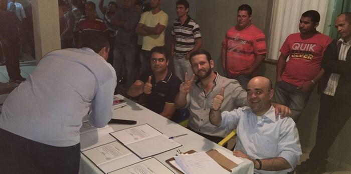 Convenção em Várzea da Palma oficializa Luiz Antônio pré-candidato a Prefeito. - 04.08.16