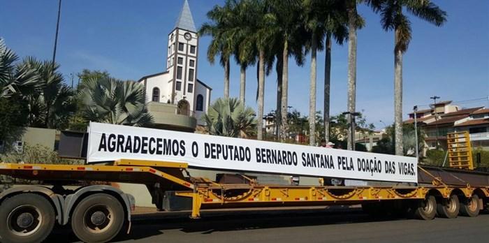 Juruaia agradece Bernardo Santana! - 08.09.16