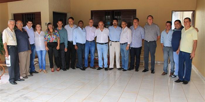 Visita ao município de Unaí.