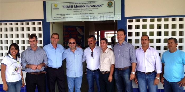 Inauguração do Centro Municipal de Educação Infantil de João Pinheiro.