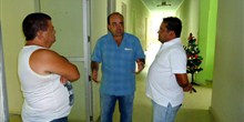 Visita ao Hospital Municipal de Jacinto, acompanhado do prefeito Dantez. - dez.13
