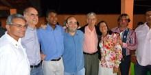 Deputado Bernardo Santana em Pescador, com o prefeito Luciano e lideranças.
