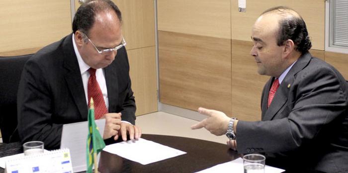 Audiência com o ministro da Integração Nacional discute problema da seca em Minas
