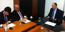 Deputado busca recursos para municípios no Ministério do Desenvolvimento Agrário