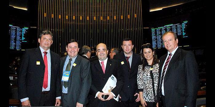 Deputado recebe lideranças da sua base em Brasília