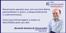 Homenagem do deputado Bernardo Santana ao Dia Internacional da Mulher