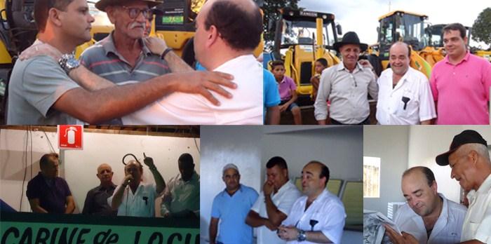 Líder faz entrega de tratores e anuncia investimento de R$ 600 mil para o norte de Minas