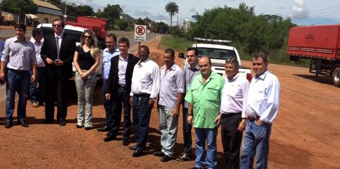 BR251: Líder do PR acompanha visita de técnicos do DNIT e MT em Unaí- MG