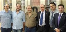 Deputado Bernardo Santana é homenageado em almoço com delegados do Sindepominas