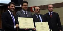 Bernardo Santana é homenageado com Honra ao Mérito na Câmara Municipal de BH